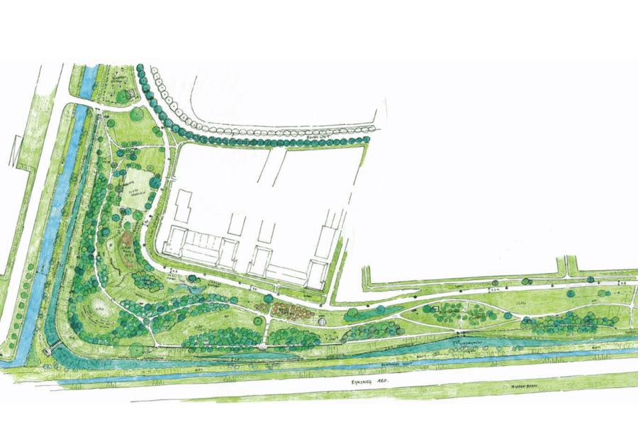 Groene Parkwal Voor Recreatie En Wonen In Rust1